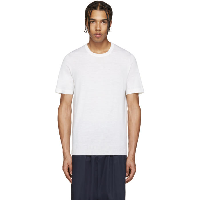 Photo: Lemaire Ivory Short Sleeve Sweater