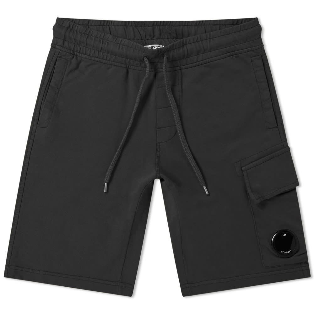 C.P. Company Light Fleece Pocket Lens Short