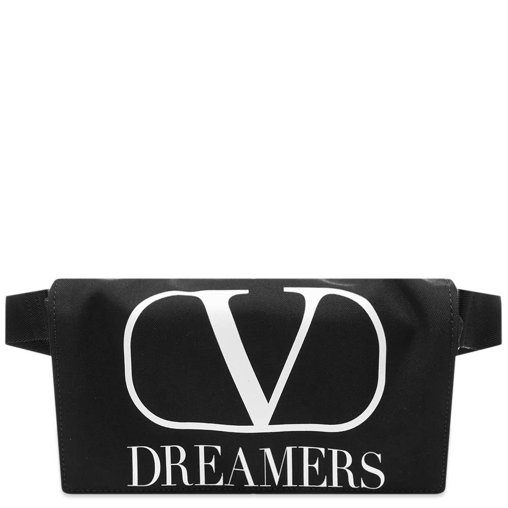 Photo: Valentino V Logo Dreamers Nylon Waist Bag