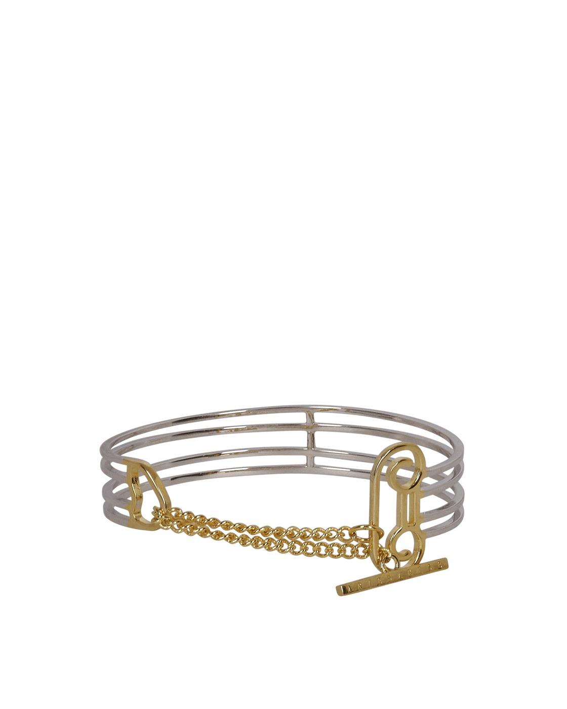 Photo: Aries Column Bracelet Silver / Gold