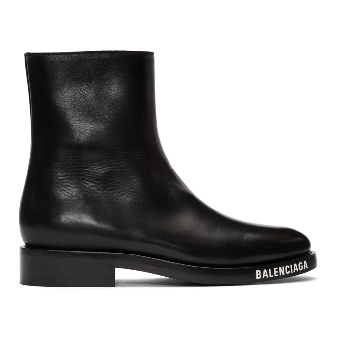 Photo: Balenciaga Black Soft Boots