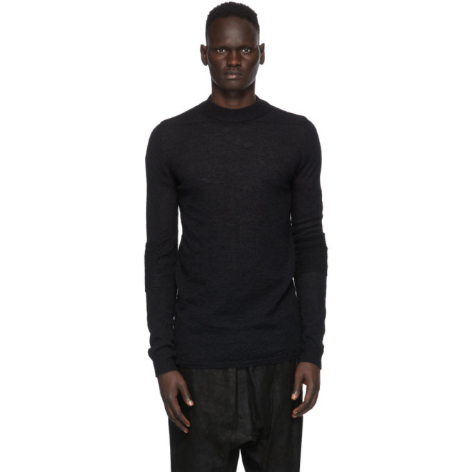 Photo: Rick Owens Black Level Mock Sweater