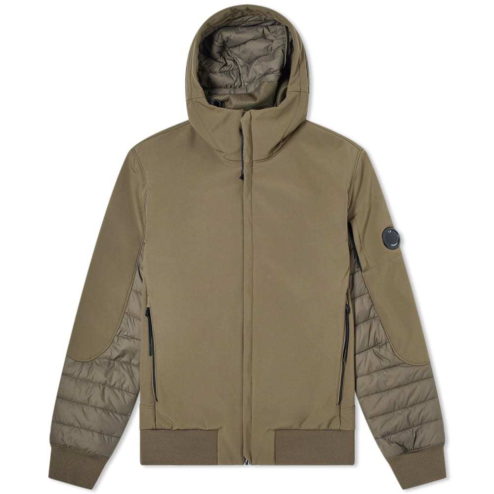 Photo: C.P. Company Hooded Padded Arm Lens Jacket