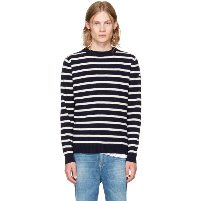 Photo: Editions M.R Navy Holiday Sailor Sweater