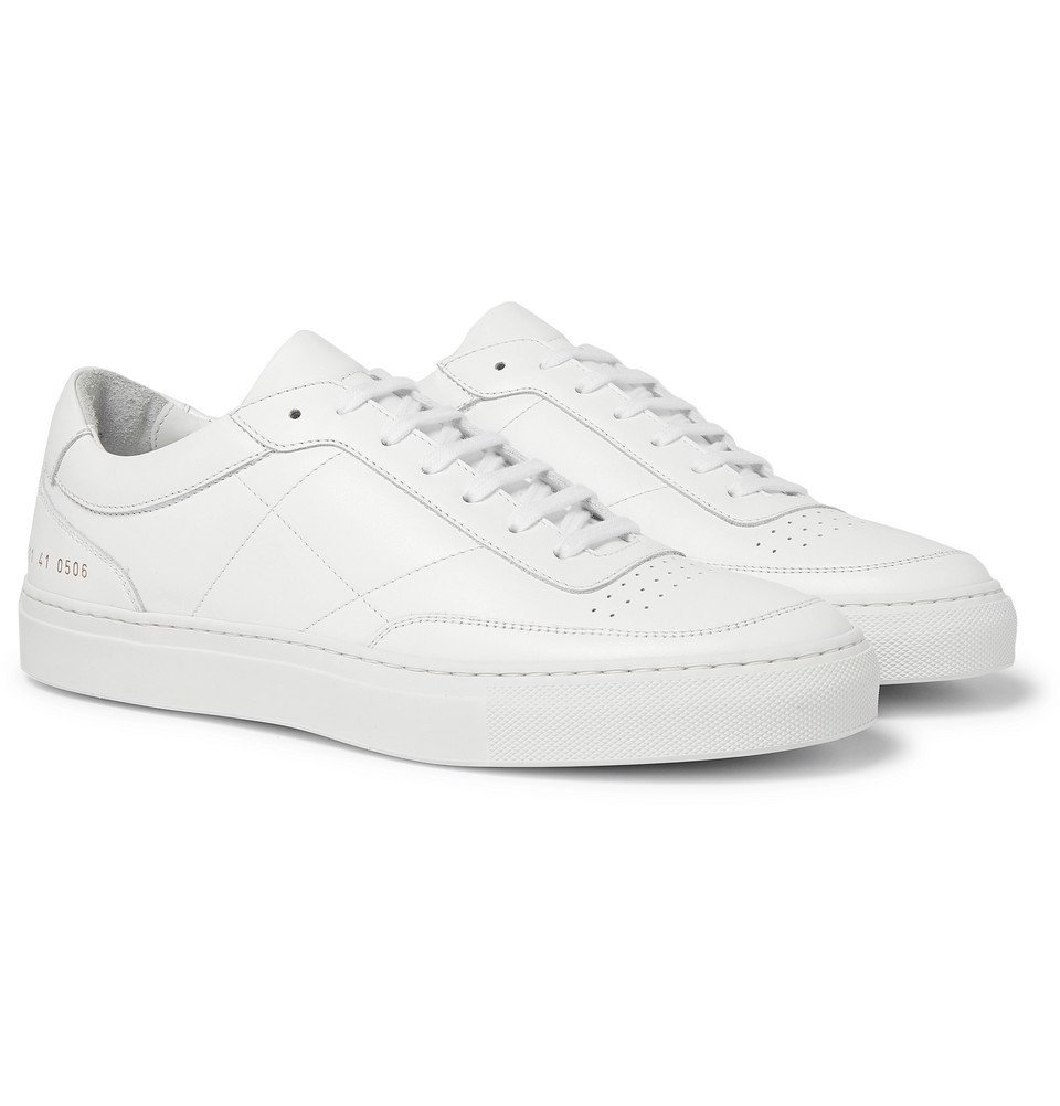 Photo: Common Projects - Resort Classic Leather Sneakers - White