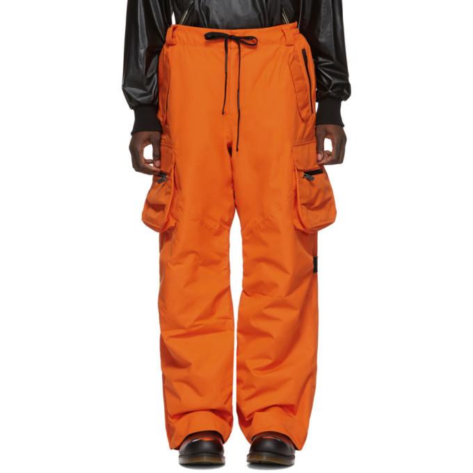Photo: Raf Simons Orange Templa Edition Wadded Cargo Pants