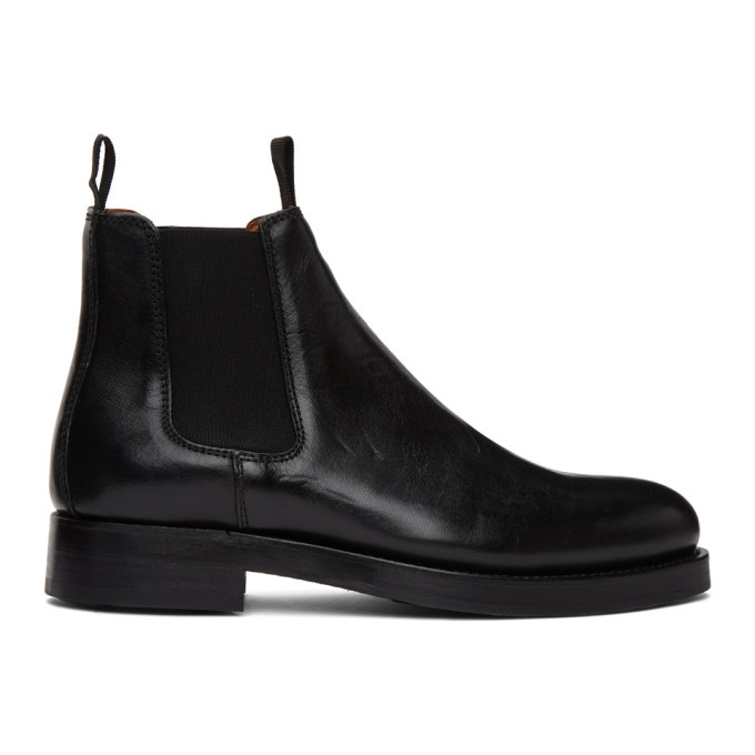 Photo: Belstaff Black Longton Chelsea Boots