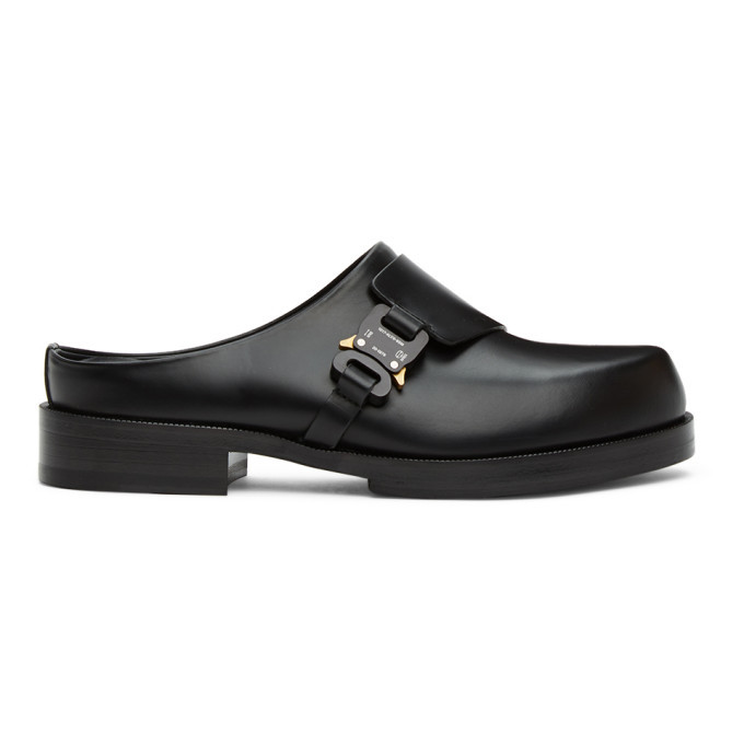 Photo: 1017 ALYX 9SM Black Formal Clog Loafers