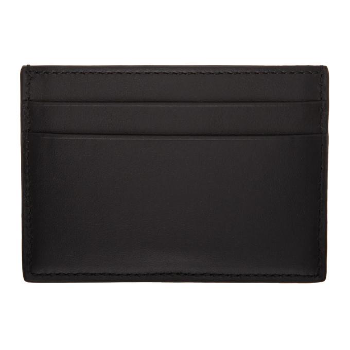 Versace Black Virtus Card Holder