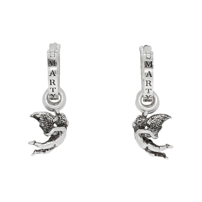 Photo: Martyre Silver Small Arcadia Hoop Earrings