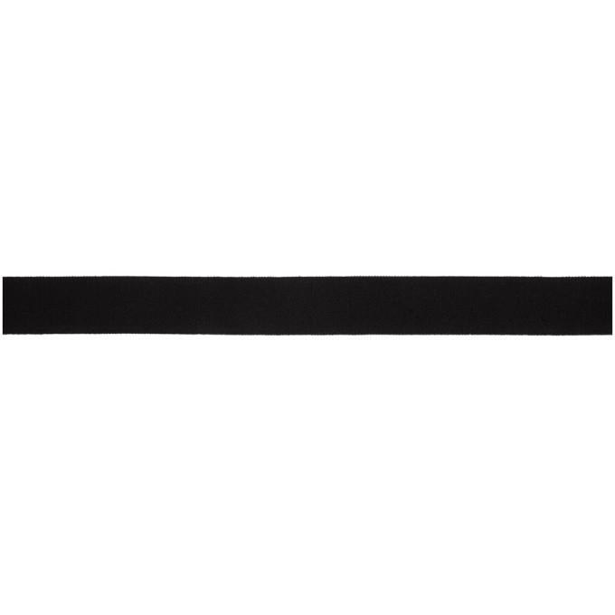 Y-3 Black Elastic Belt