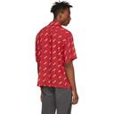 Aries Red Logo Bowling Shirt