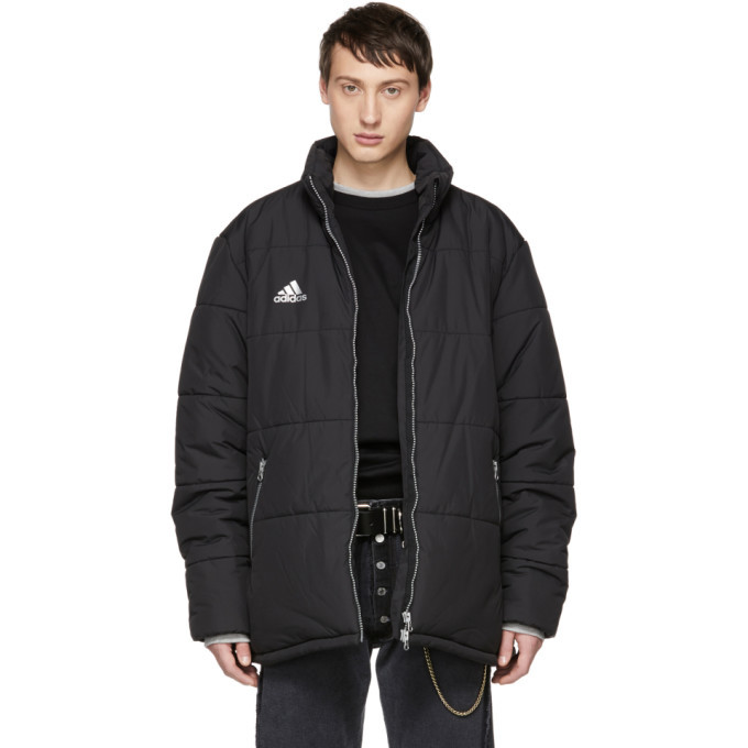 Photo: Gosha Rubchinskiy Black adidas Originals Edition Puffer Jacket