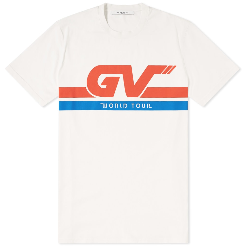 Photo: Givenchy GV World Tour Tee