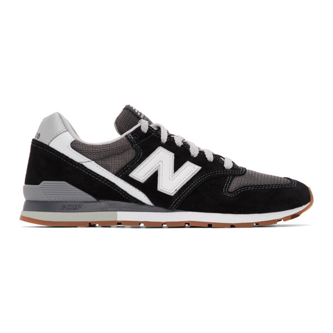 Photo: New Balance Black 996 Sneakers