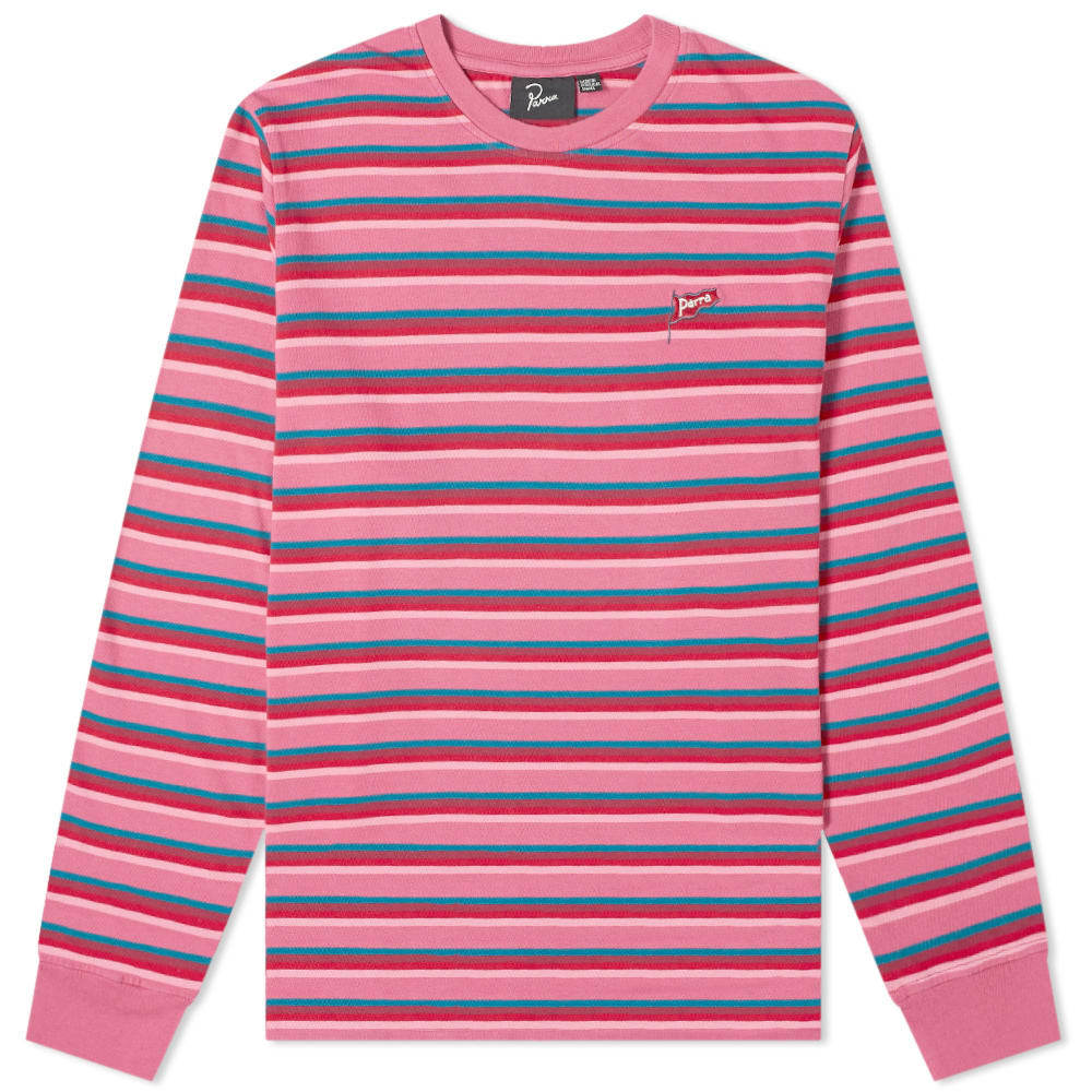 Photo: By Parra Long Sleeve Flapping Flag Stripe Tee