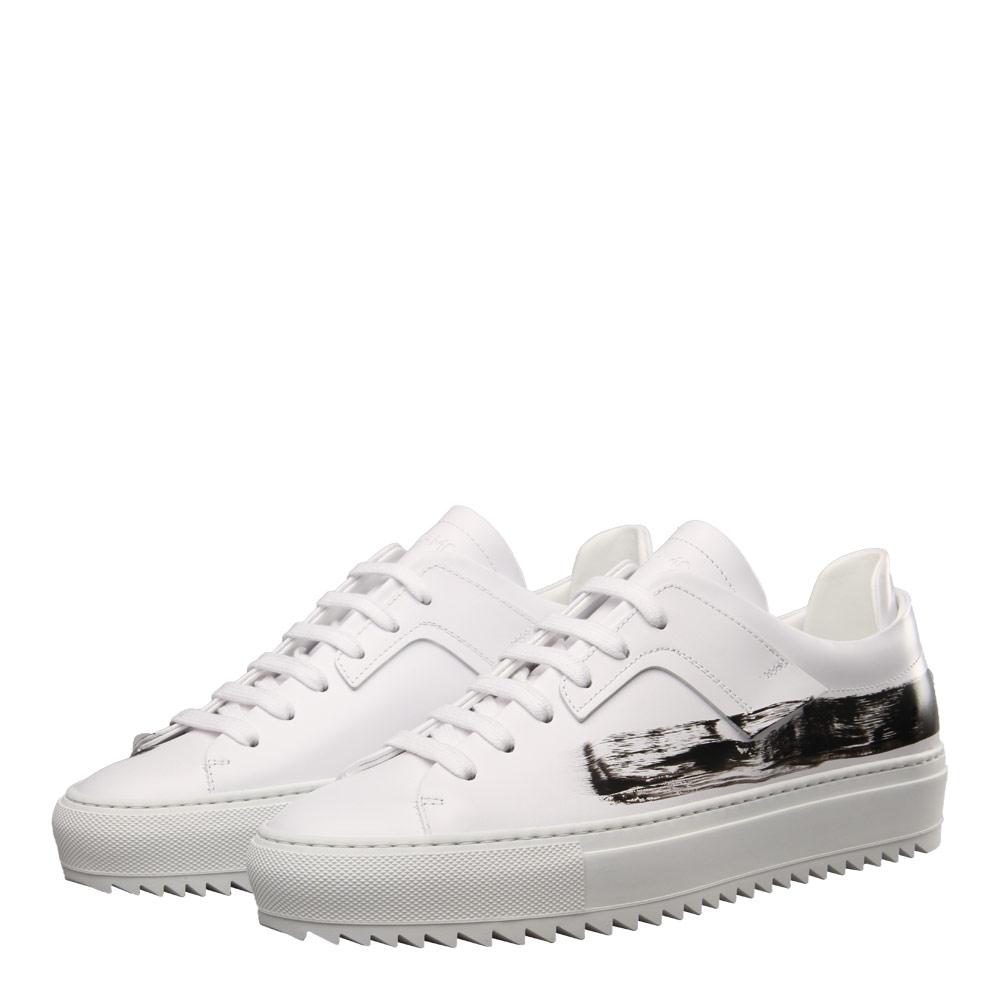Photo: Patch Sneaker - White / Black