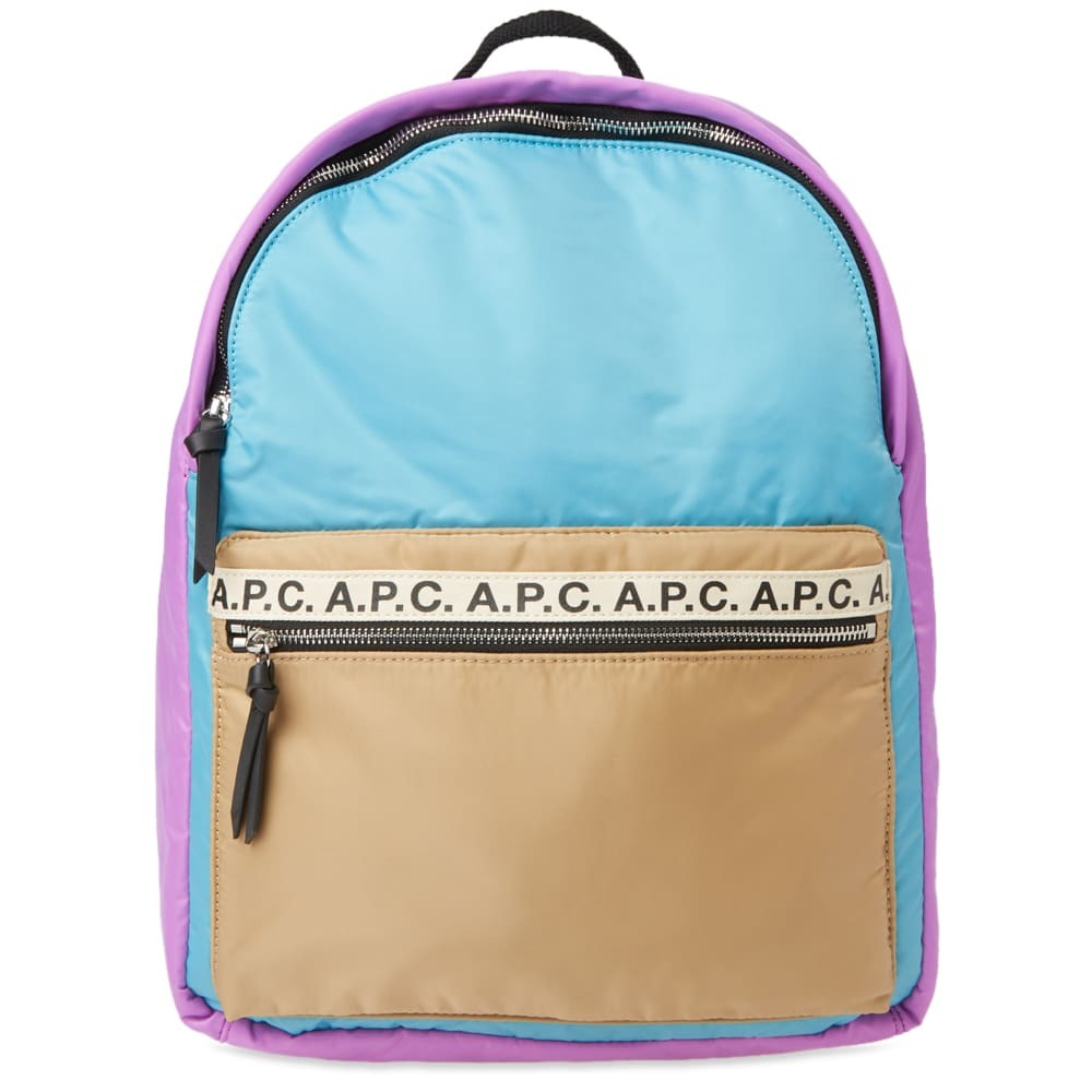 Photo: A.P.C. Marc Tape Logo Backpack