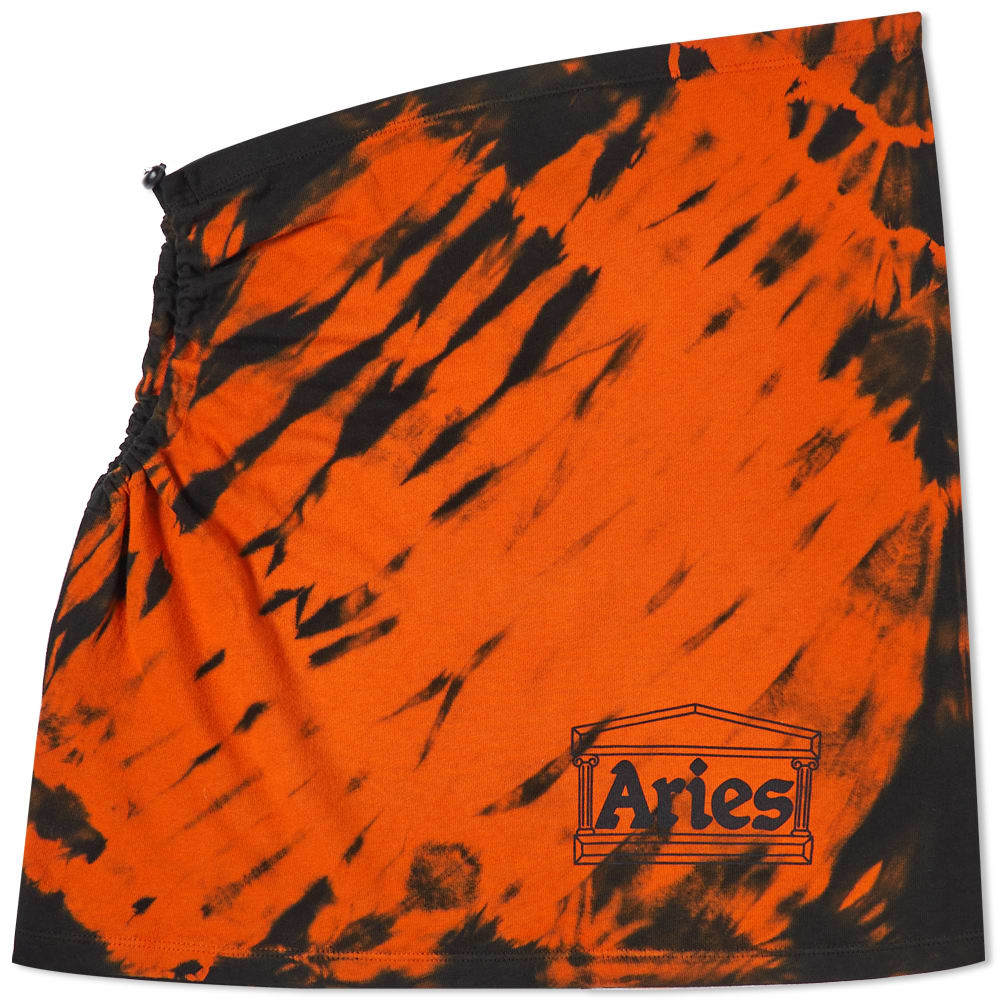 Aries Tiger Dye Tech Hole Skirt