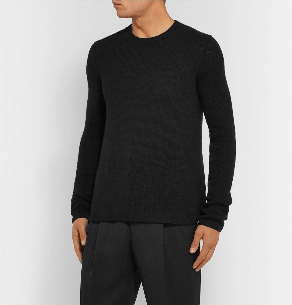 Bottega Veneta - Slim-Fit Cashmere Sweater - Black
