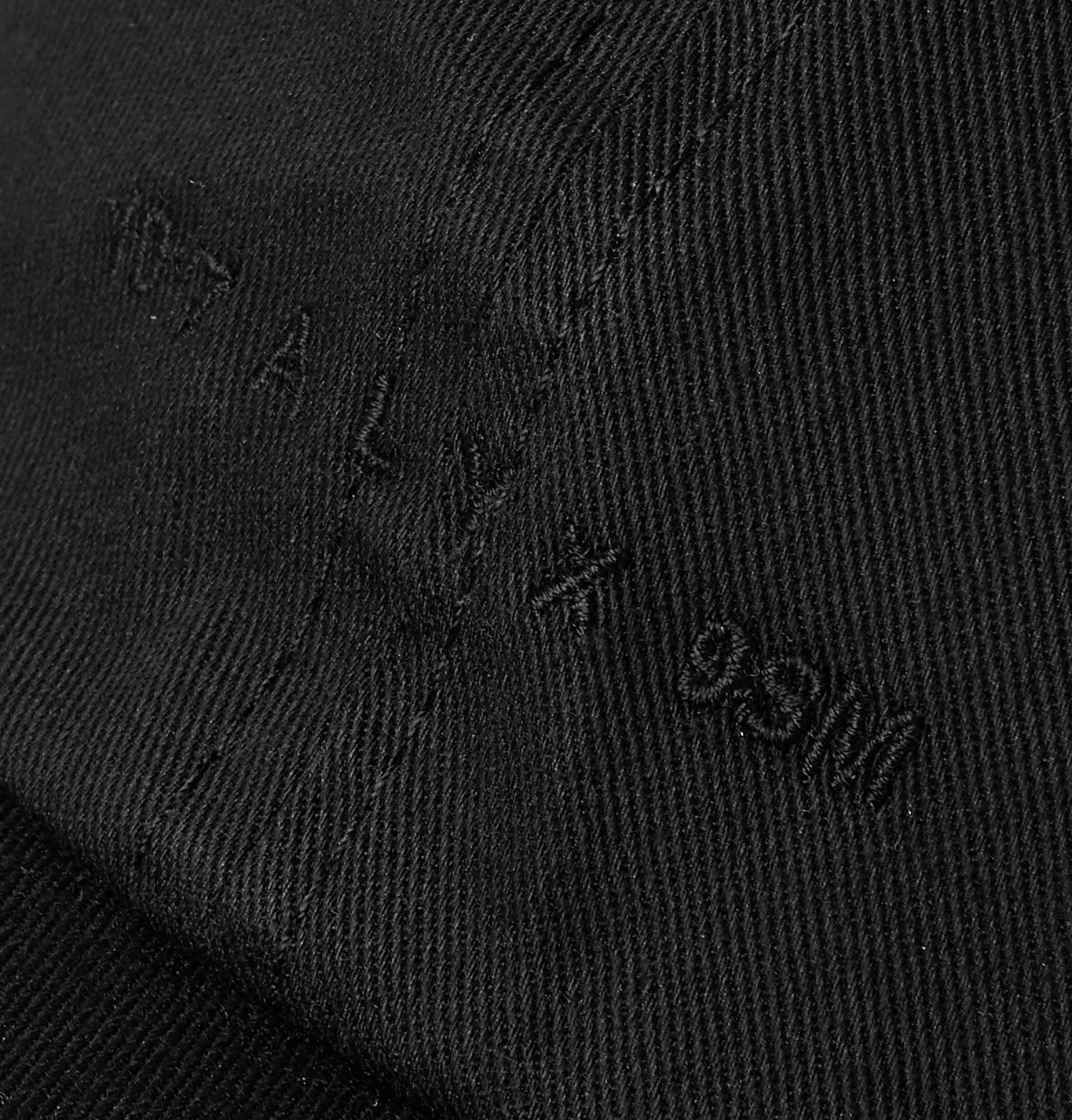 1017 ALYX 9SM - Buckle-Detailed Logo-Embroidered Cotton-Twill Baseball Cap - Black
