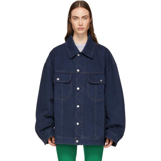 Acne Studios Blue Oversized Denim Jacket