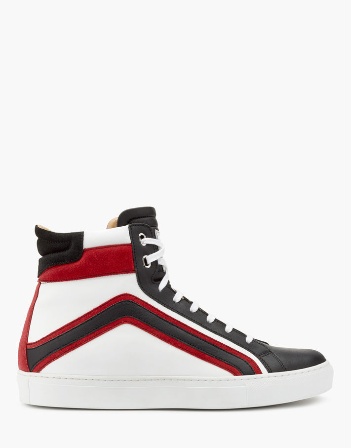 Belstaff Ampton High Sneakers Man Black