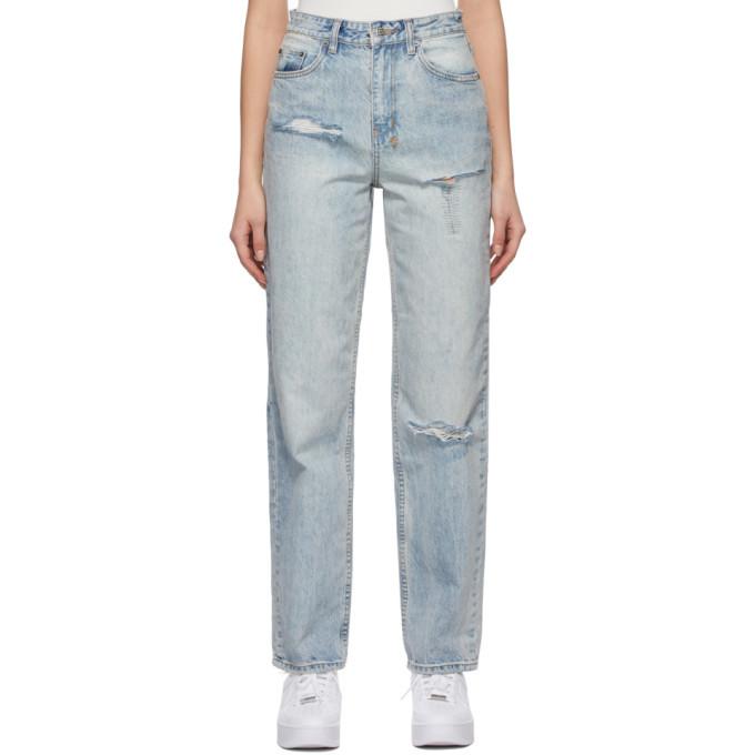 Photo: Ksubi Blue Playback Jeans