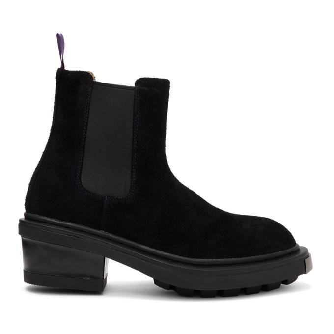 Photo: Eytys Black Suede Nikita Chelsea Boots