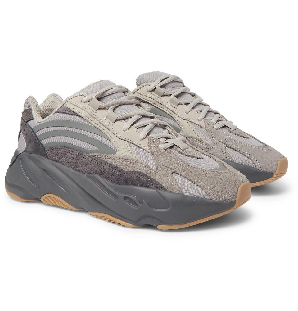Photo: adidas Originals - Yeezy Boost 700 V2 Nubuck, Leather and Mesh Sneakers - Unknown