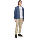 Stone Island Blue Denim Mac Chambray 3L Jacket