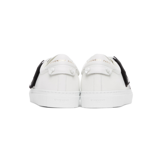 Givenchy White Crossed Strap Urban