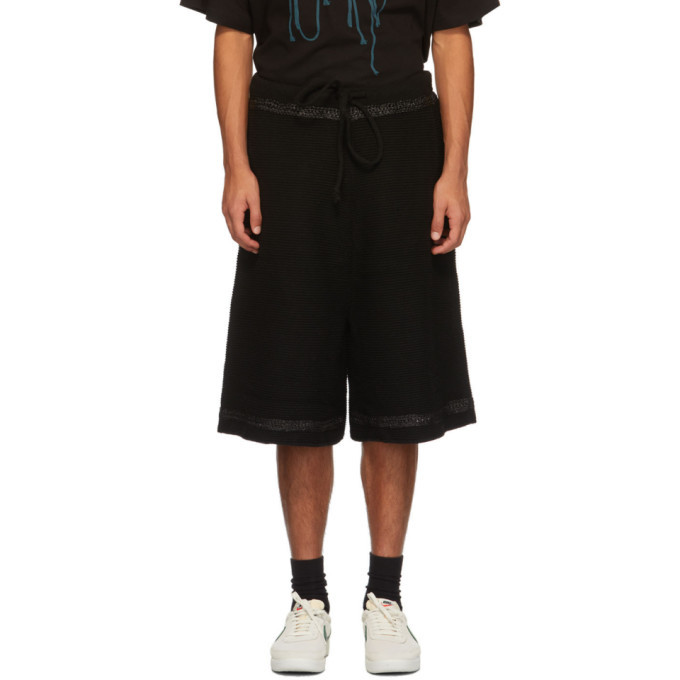 Photo: NAMESAKE Black Knit Tobi Shorts