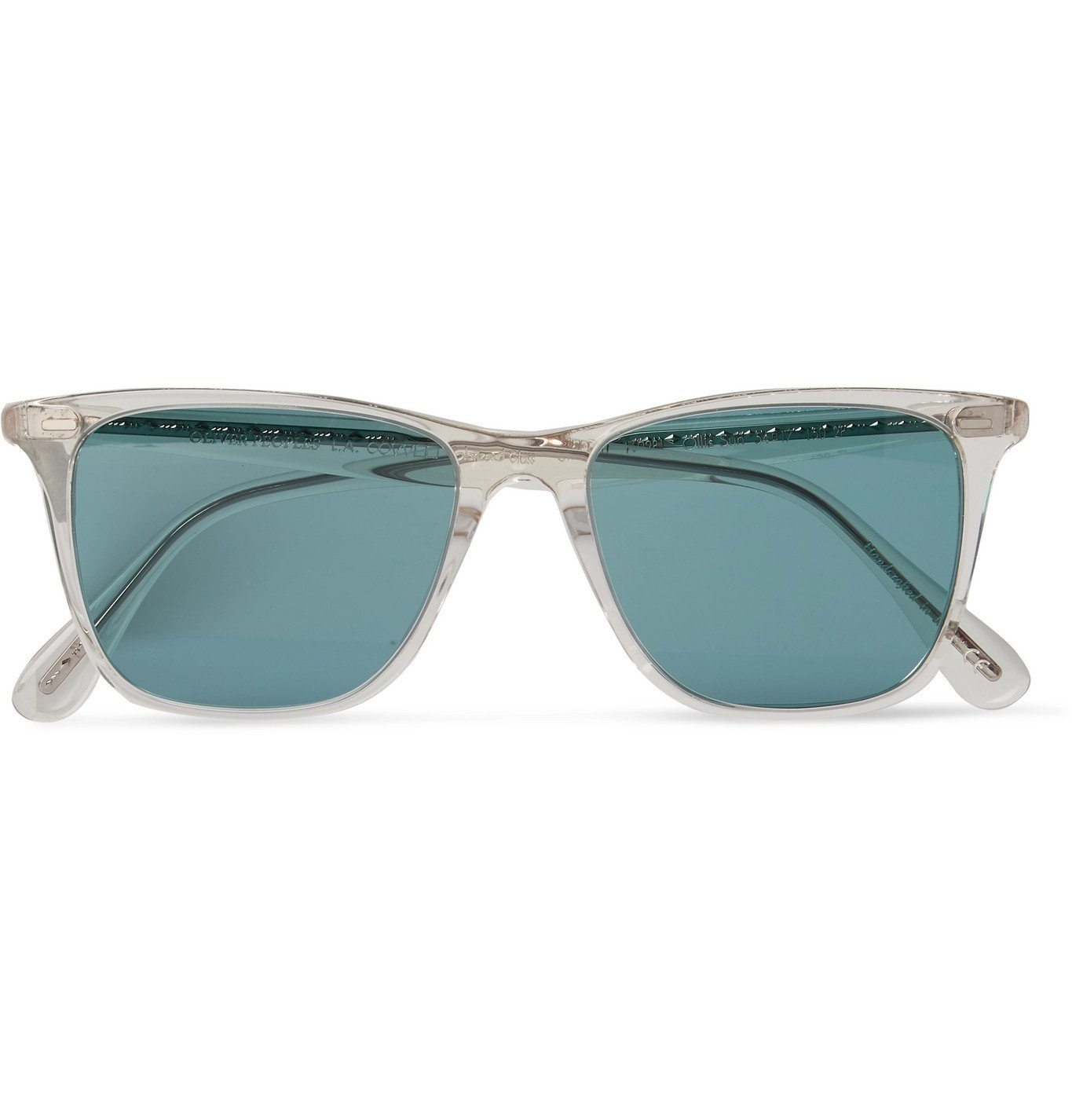 Photo: OLIVER PEOPLES - Ollis Sun Square-Frame Acetate Polarised Sunglasses - Neutrals