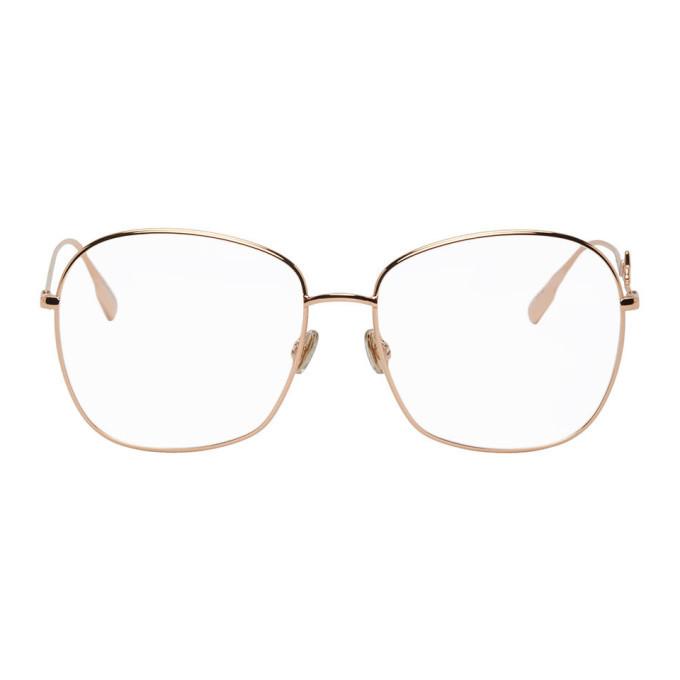Photo: Dior Rose Gold Signature 03 Glasses