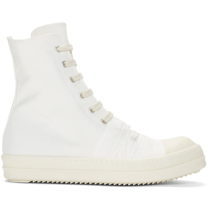White high sneaker Rick Owens