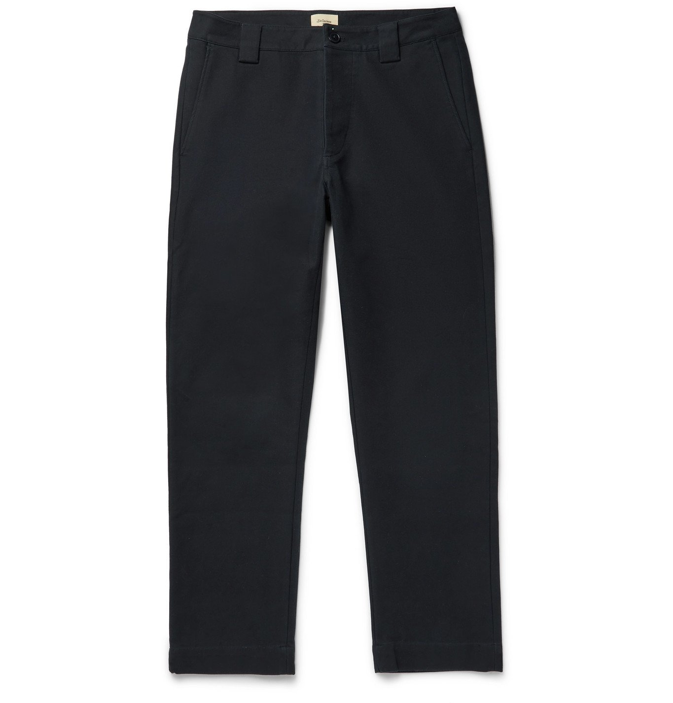 Photo: Bellerose - Tapered Cotton-Twill Chinos - Blue