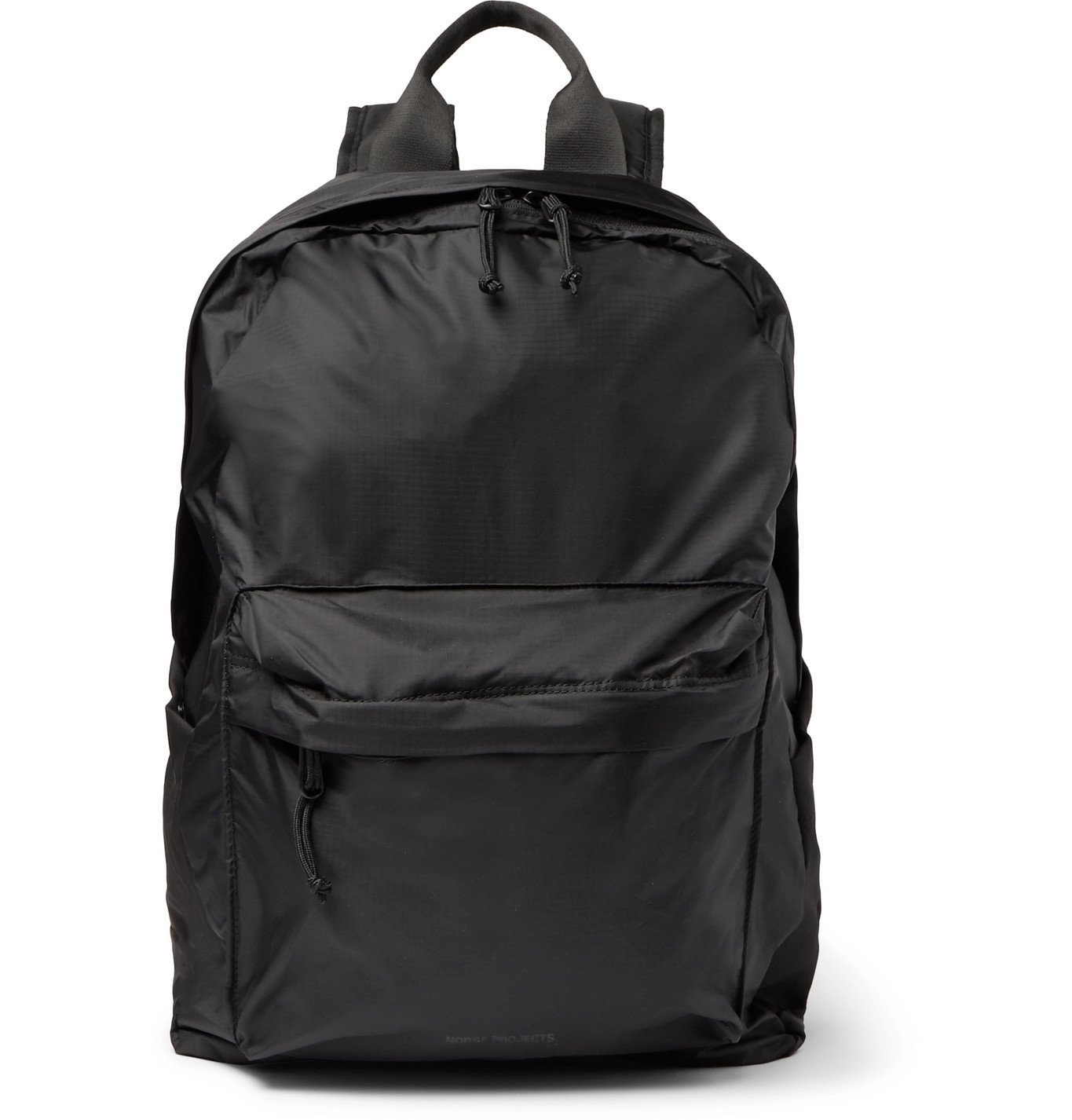Photo: Norse Projects - Packable Ripstop Backpack - Black