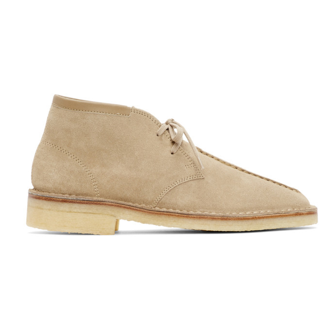 Photo: Lemaire Taupe Suede Desert Boots
