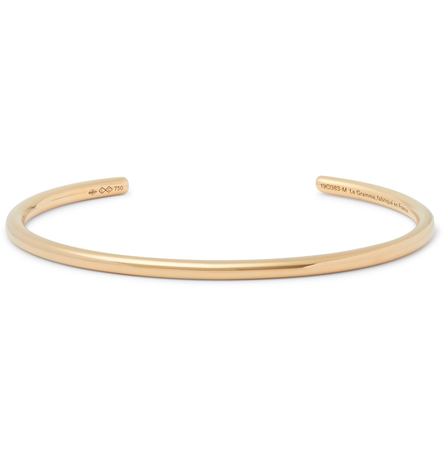 Photo: Le Gramme - Le 17 18-Karat Gold Cuff - Gold