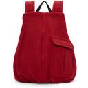 Raf Simons Red Eastpack Edition Coat Backpack
