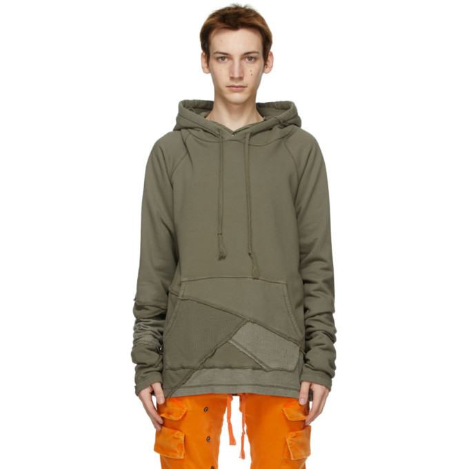 Photo: Greg Lauren Khaki Fragmented Hoodie