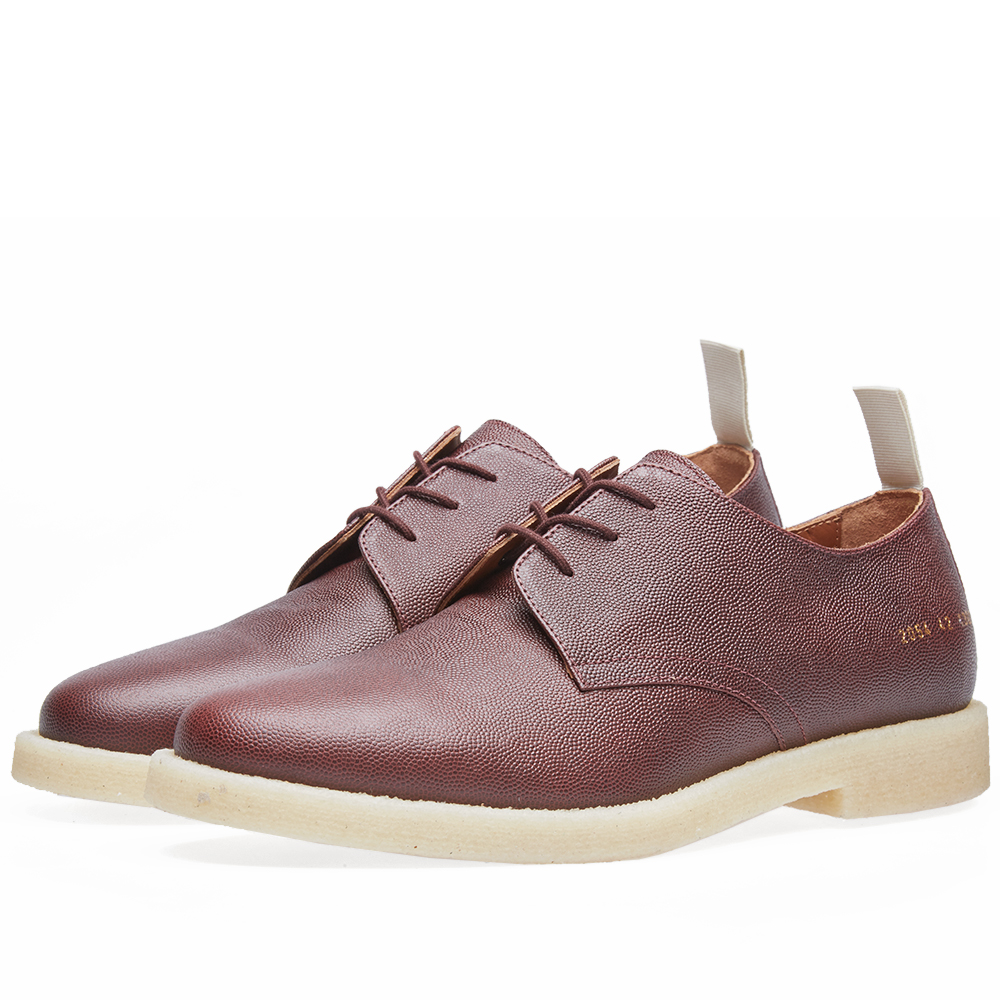 Common Projects Cadet Derby Stamped Grain