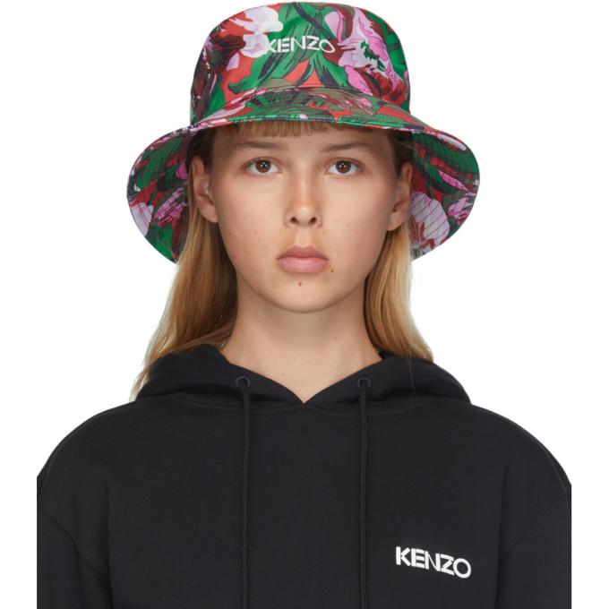 Photo: Kenzo Pink Vans Edition Floral Bucket Hat