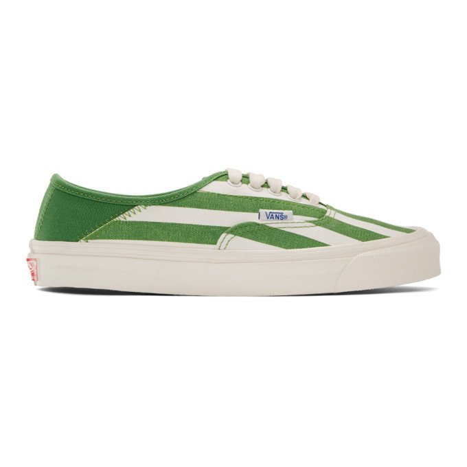 Photo: Vans Green OG Style 43 LX Sneakers