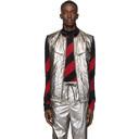 3.1 Phillip Lim Reversible Silver Foil Padded Vest