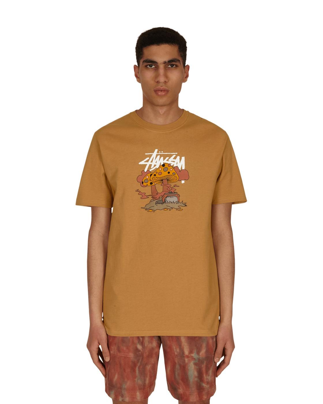 Photo: Stussy Something's Cookin' T Shirt Khaki