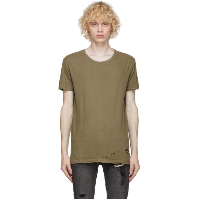 Ksubi Khaki Combat T-Shirt