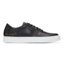 Common Projects Black BBall Low Sneakers