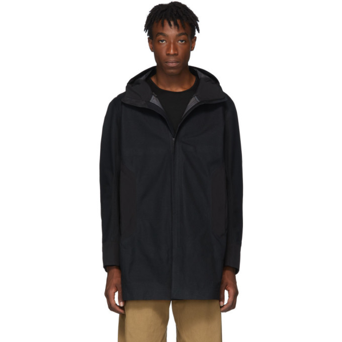 Photo: Veilance Black Navier AR Coat